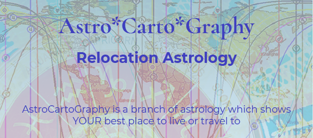 astrocartography readings, astrological mapping, Where should I be living?