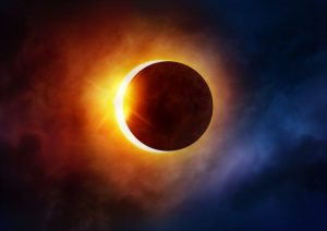 Spring Solar Eclipse.